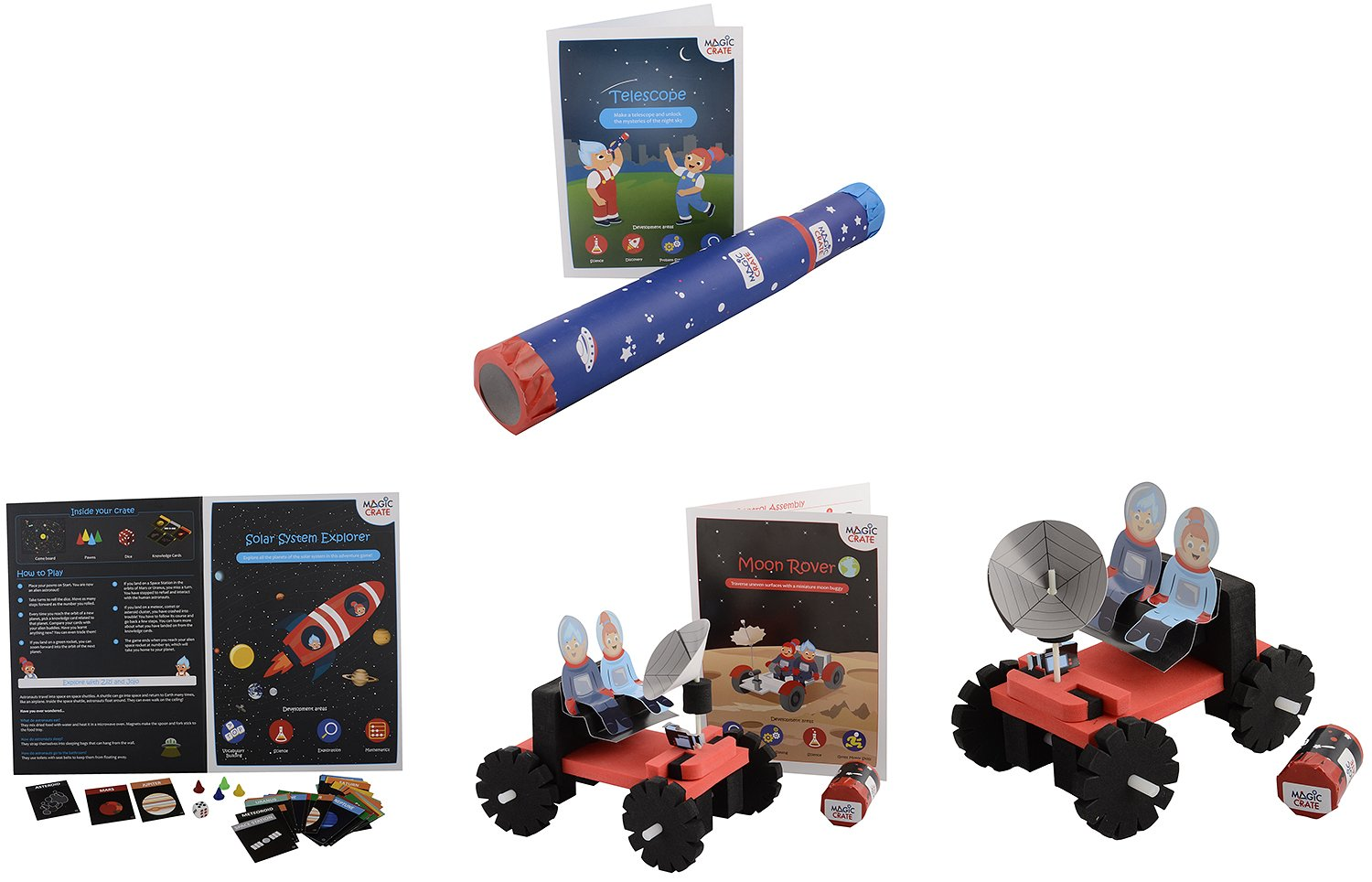 3b094e4e65275 Buy Magic Crate Little Astronaut (Combo of 4 Kits) Online at Low ...