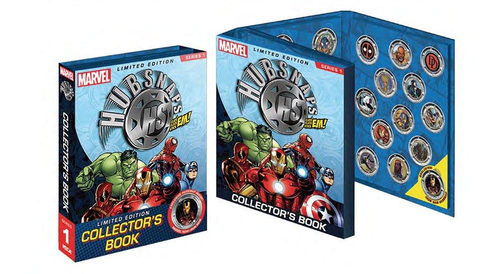 orden ahora con gran descuento y entrega gratuita Marvel Universe Ãlbum para para para Hubsnaps Serie 1 Neca Comics Album stickers  punto de venta