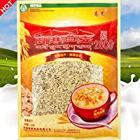 高寒 皮燕麦片720g*4袋共2880g量贩装 即食原味燕麦片 青海青麦食品特产包邮