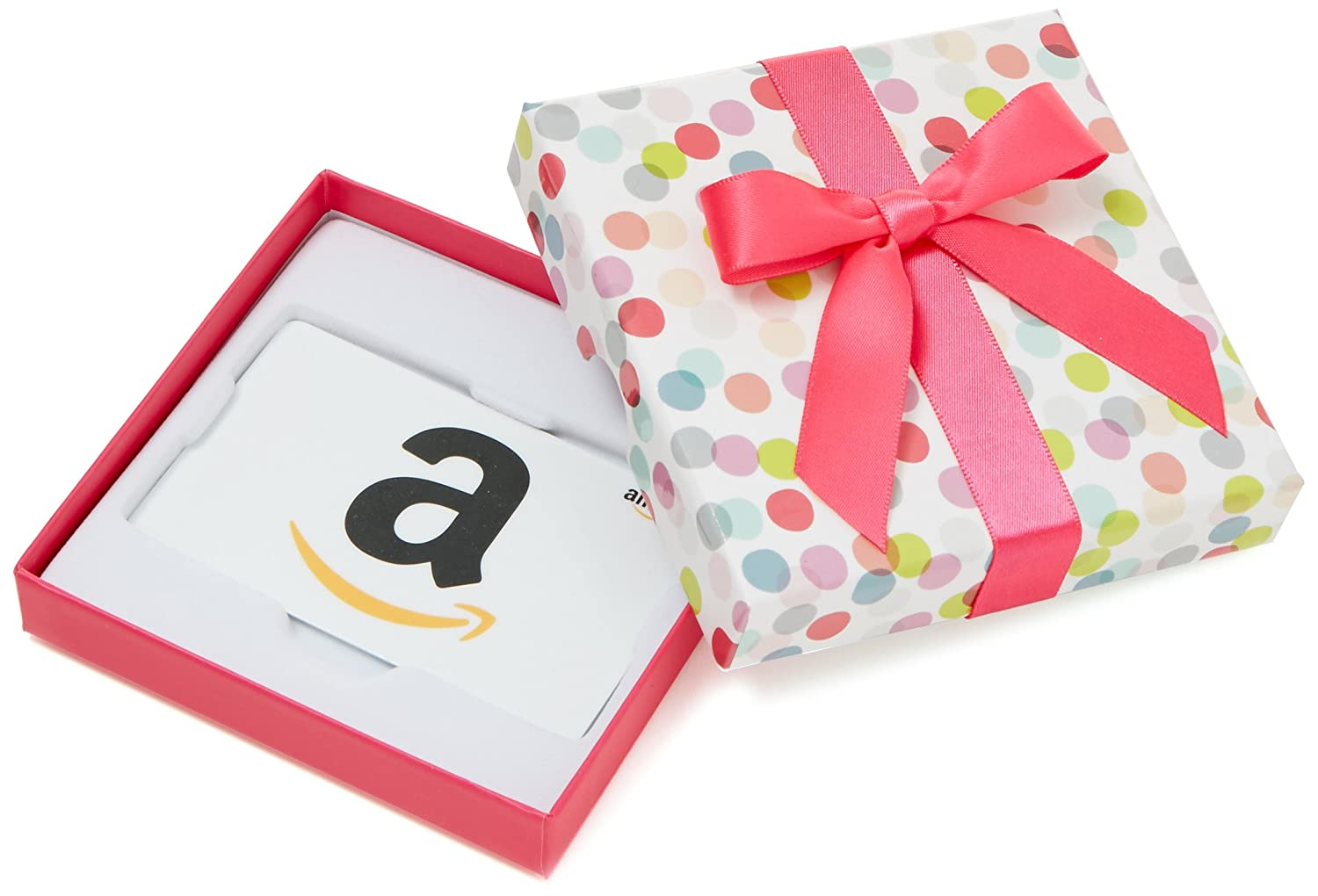 Amazon.com Gift Card in a Dot Kasten (Classic White Card Design)