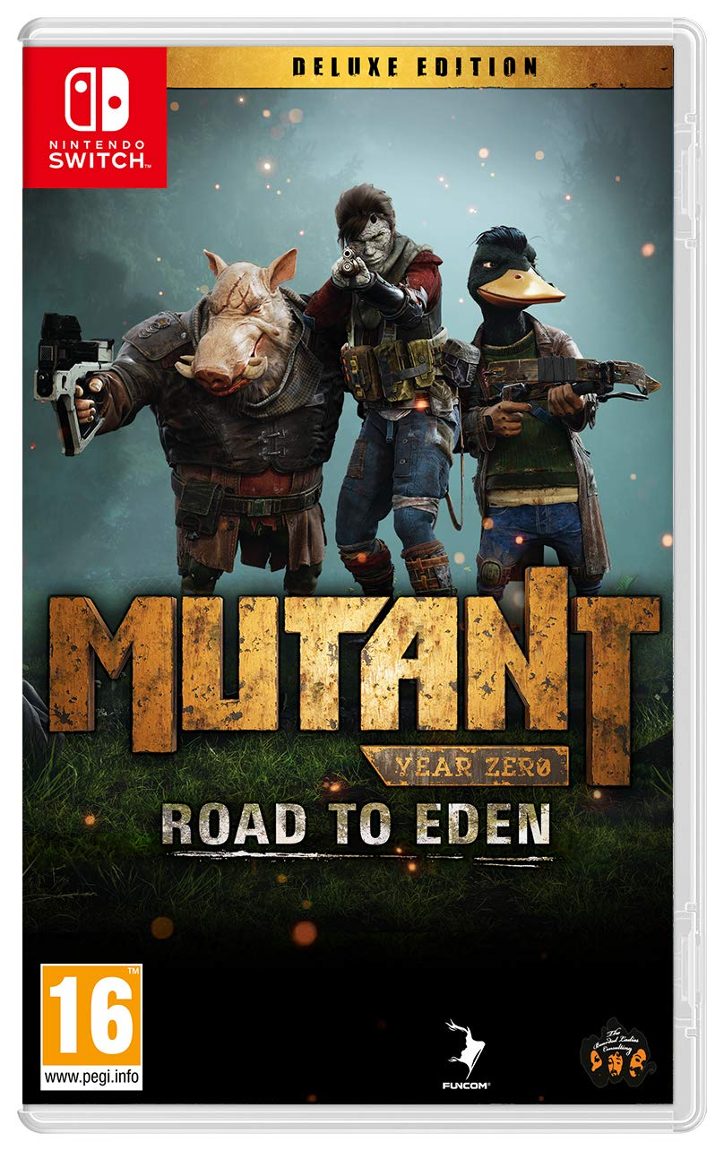 Mutant Year Zero Road to Eden Deluxe edition SWITCH [Importación ...