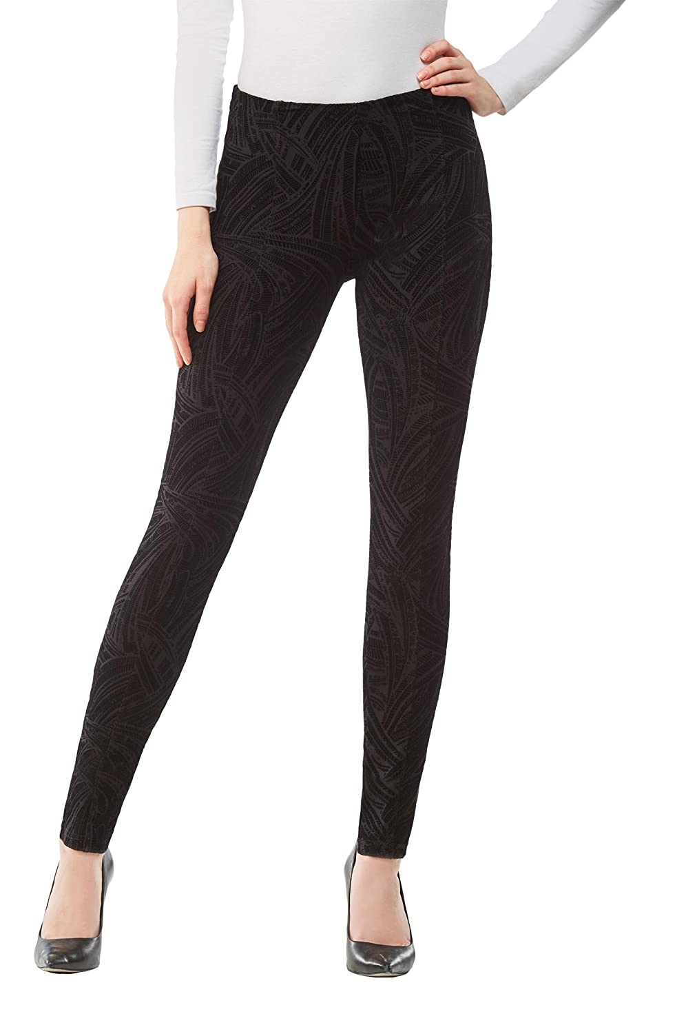 Plus Luxe Legging Black 1X Nygard