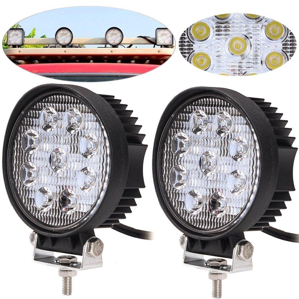 2-Pack 4.5 '48W 6000K-6500K luce del lavoro Daylight LED Flood 60 gradi angolo del fascio di guida la lampada della nebbia per l'off-road Truck Car ATV Jiehe