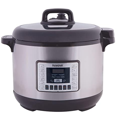 Amazon.com: NuWave 33501 13 qt. Olla a presión eléctrica ...