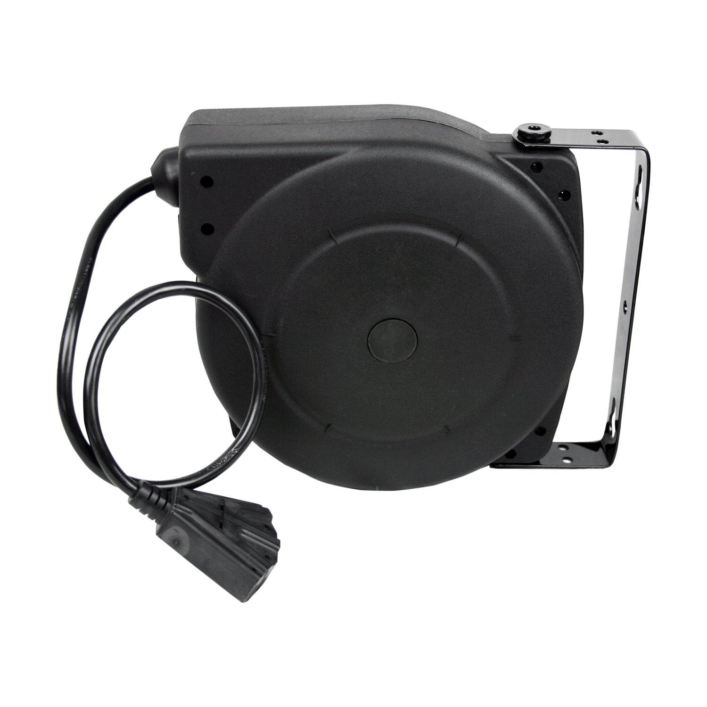 Amazon.com: Alemite 40' 12/3 Retractable Extension Cord Reel NEW: Home  Improvement