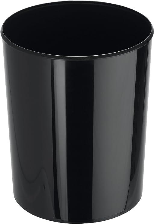 Papelera con Capacidad de 20 litros Han 18200-13 Elegance Color Negro