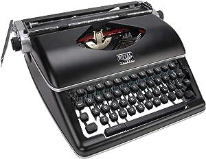 Classic manual typewriter black