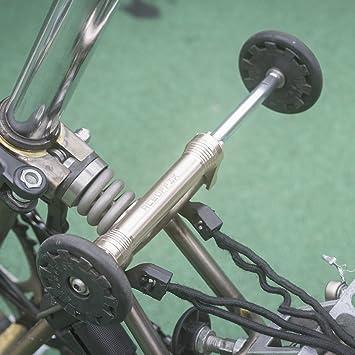 Alloy Easy Wheel Extension Telescopic lever Extender for Brompton Bike 65g