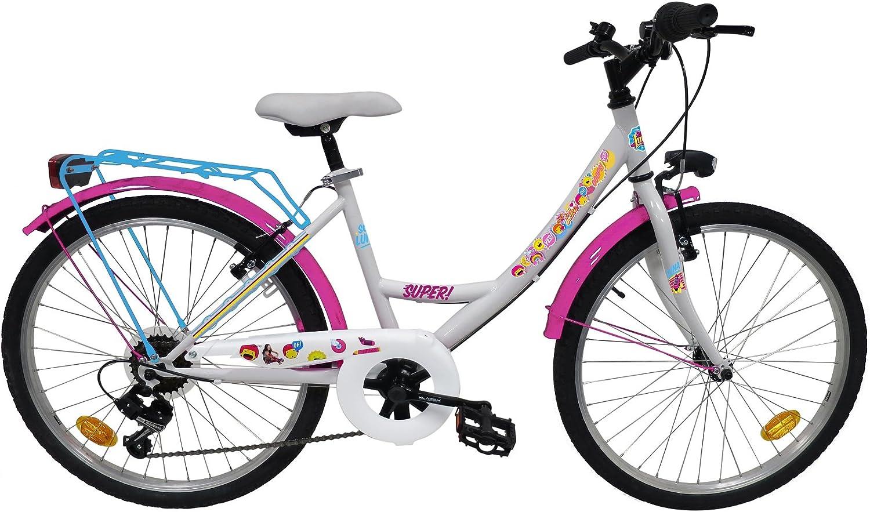 Bicicleta Niña 9/12 años Soy Luna: Amazon.es: Deportes y aire libre