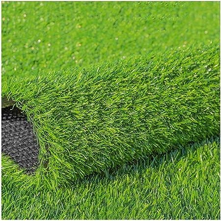YNFNGXU Césped Artificial Súper Grueso 20Mm Apilado Alto Césped Sintético Suave Y Cómodo Adecuado para Jardín Balcón Césped Falso Tendido (Size : 2x3m): Amazon.es: Hogar