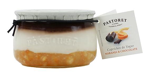 Pastoret - Caprichos de Yogur Naranja y Chocolate, 1 Unidad x 150 g: Amazon.es: Alimentación y bebidas