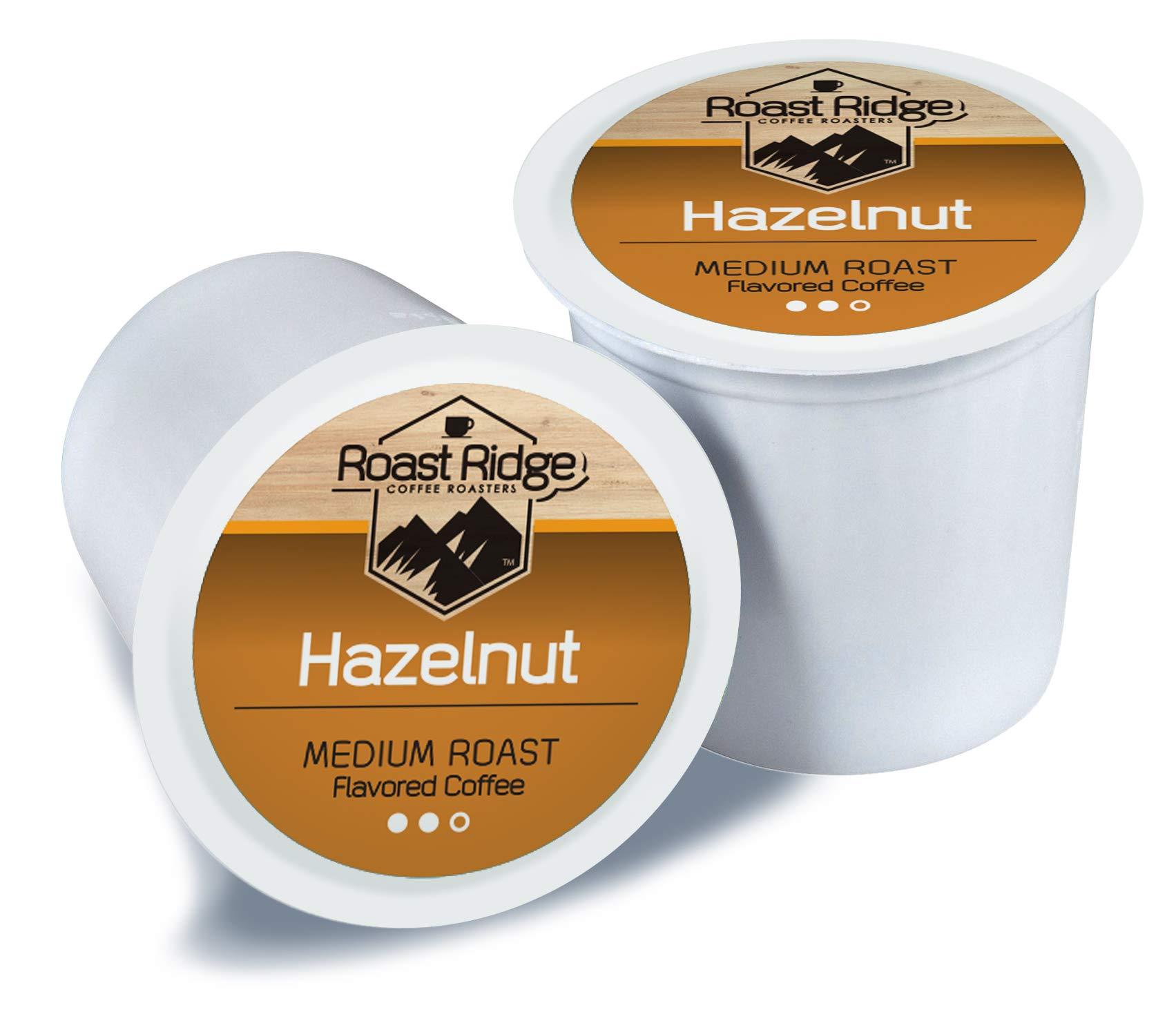 Roast Ridge Coffee Single Cup, Hazelnut, 100 Count by Roast Ridge