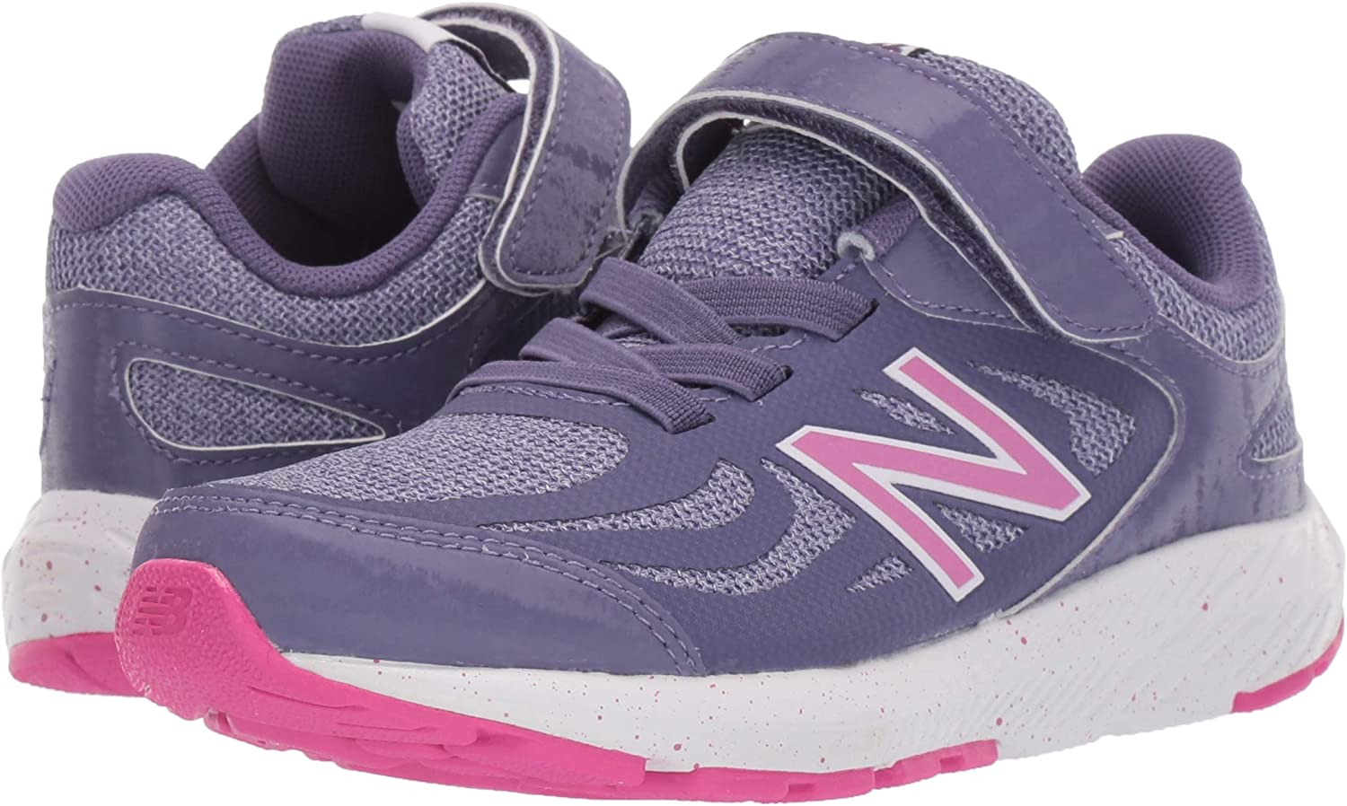 New Balance Kids 519 V1 Lace-Up Running Shoe