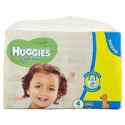 Huggies - Unistar - Pañales - Talla 4 (7-14 kg) - 2