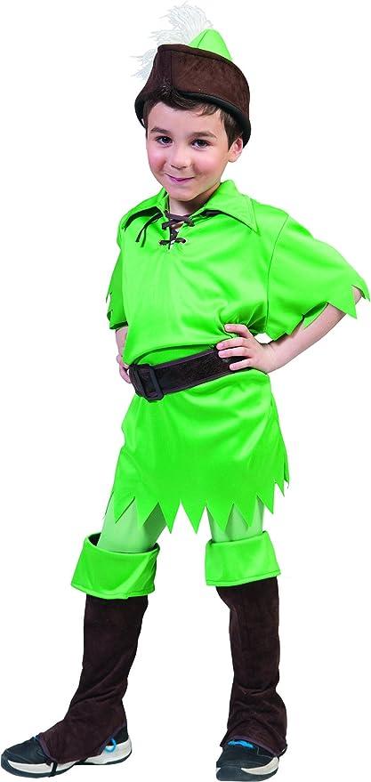 mágica Clown – Peter Pan Disfraz Para Niños, 116 – 170, 6 – 15 ...