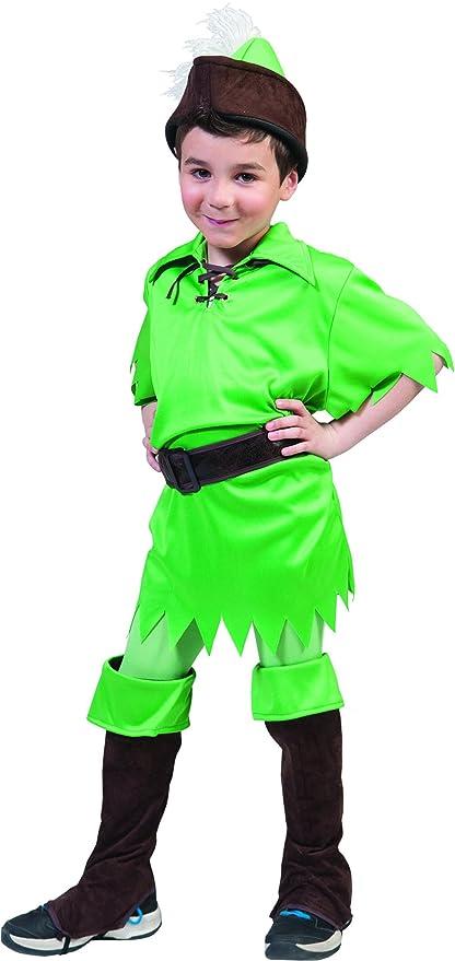 mágica Clown - Peter Pan Disfraz Para Niños, 116 - 170, 6 ...