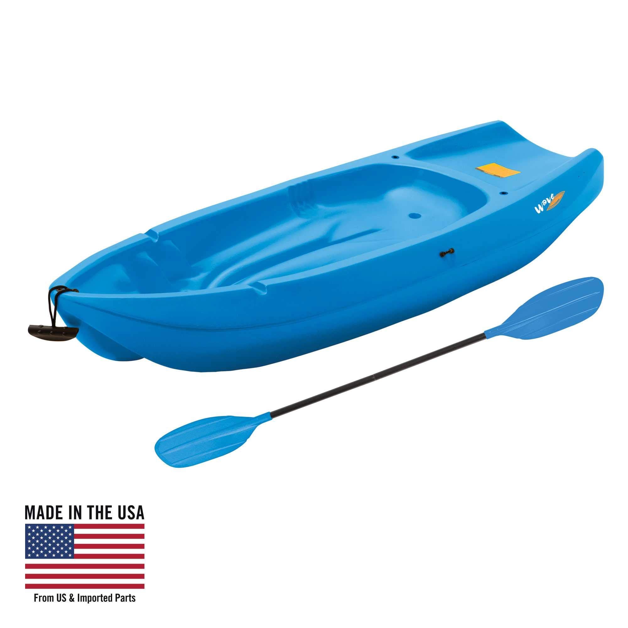 Stuff like that Lifetime, 6', 1-Man Wave, Youth Kayak, with Bonus Paddle, Blue, 90097'' by Stuff like that