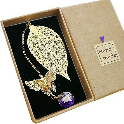 Metal Leaf Bookmark. Ideal Gift