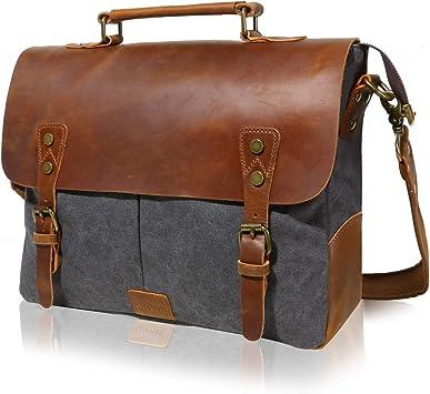 Lifewit 14 Zoll Laptop Tasche Männer Umhängetaschen Herren