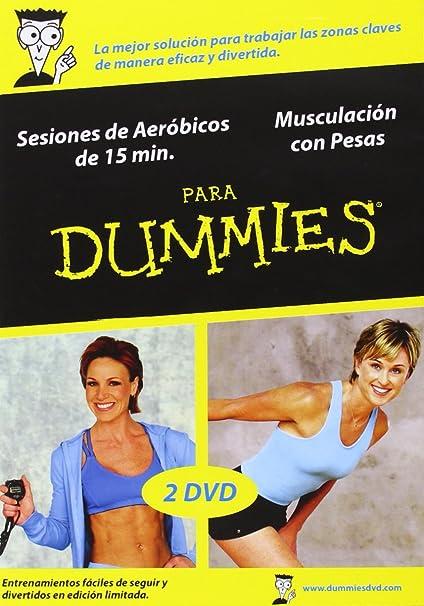 Amazon.com: Para Dummies: Sesiones De Aeróbicos De 15 Minutos + Musculación Con Pesas [Dv: Movies & TV