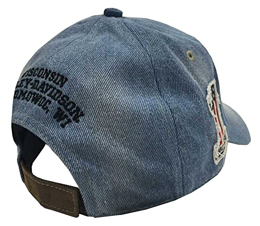 blank denim baseball hats men old glory washed blue cap amazon clothing store levi caps
