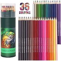 DDB Coloured Pencils Watercolor Pencils Colouring Pencils, 36Pcs Professional Drawing Pencils, Oil-based Artist Pencil…