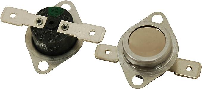 Fits HOTPOINT CREDA Tumble Dryer Thermostat Kit White Spot