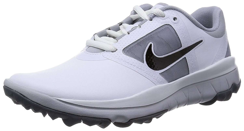 Nike Golf womens FI Impact Golf Shoe, White/Grey/Black, 6.5 w
