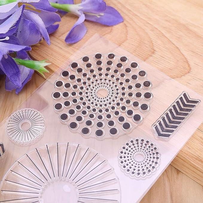Oranmay Wooden Floor DIY Silicone Clear Rubber Stamp Sheet Scrapbooking Album Photo DIY