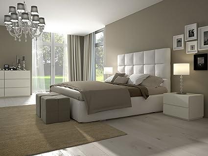 Dormitorio Tempur Colchón + Canapé cama Skyline + Motor de listones parrilla cama 110 cm Cabecero