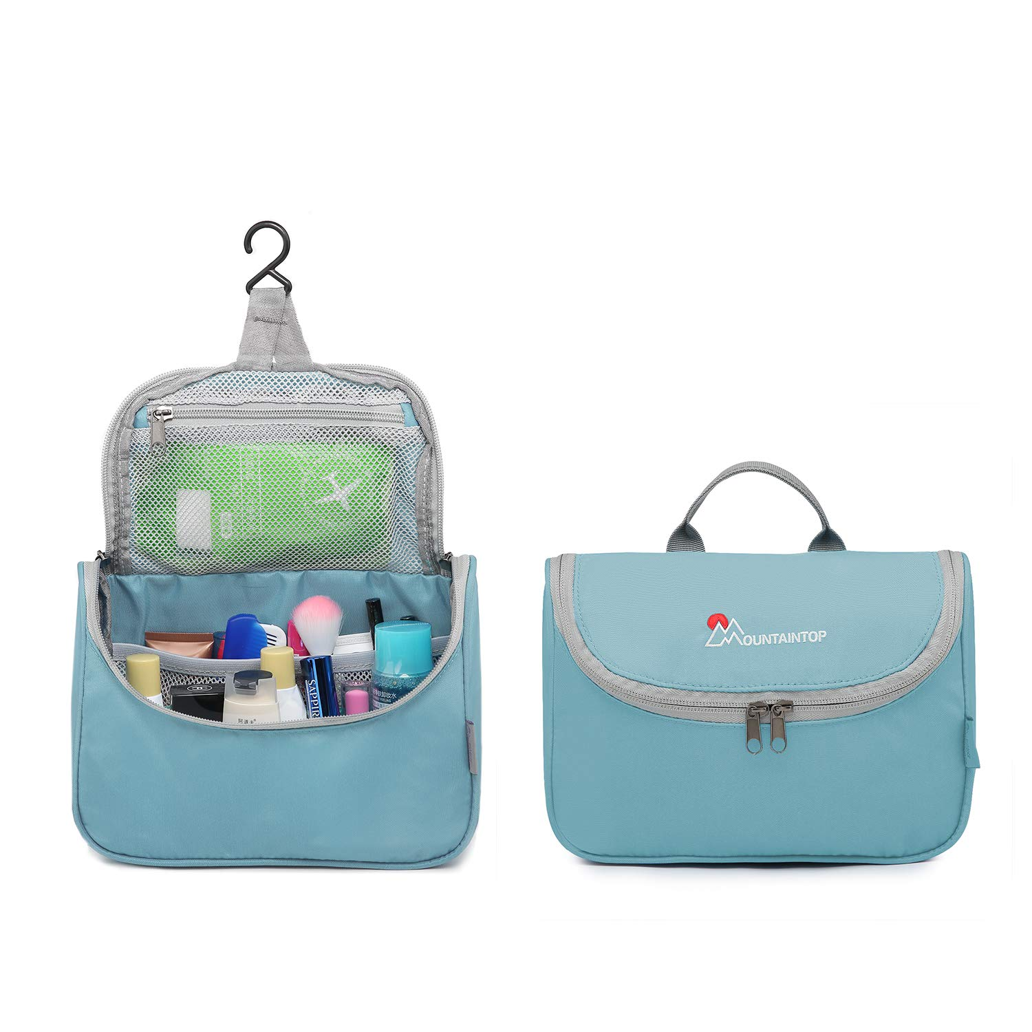 Mountaintop toiletry bag for hanging up for travel vacation, 23.5 x 18 x 6 cm LTD