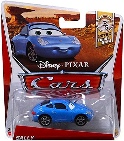 Amazon Com Disney Pixar Cars Movie 1 55 Die Cast Car Sally