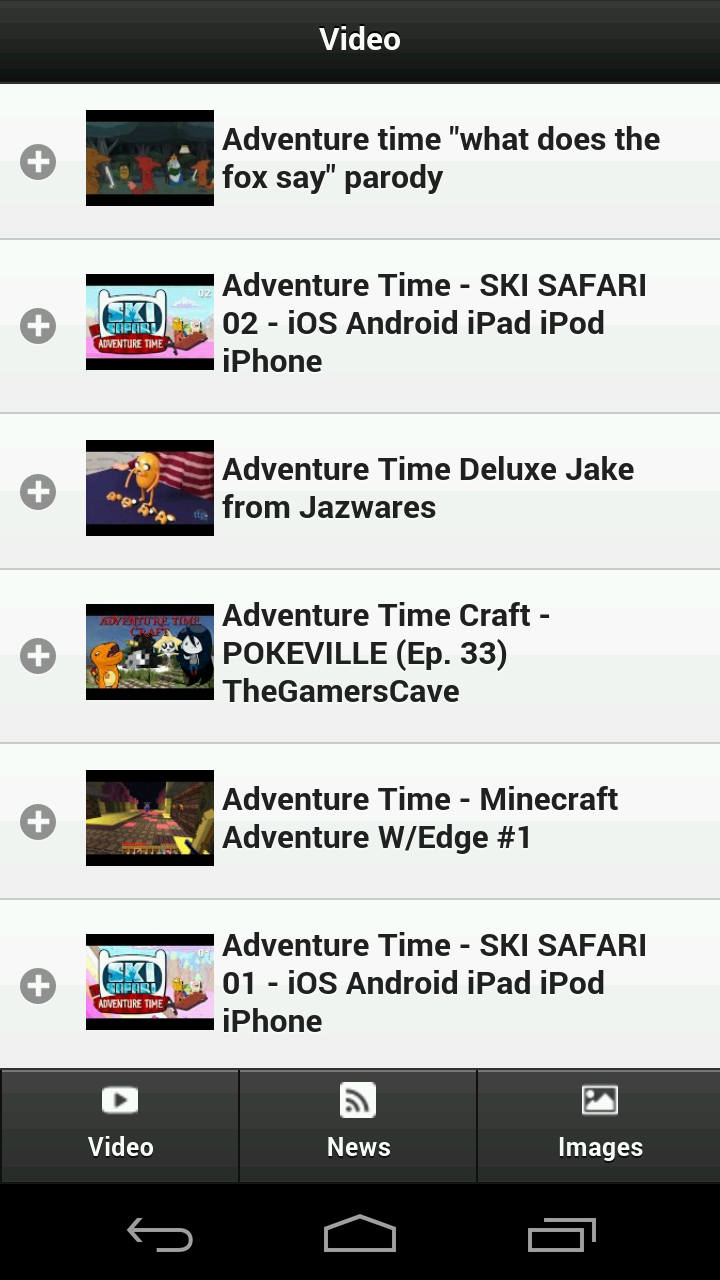 Adventure Time FanApp