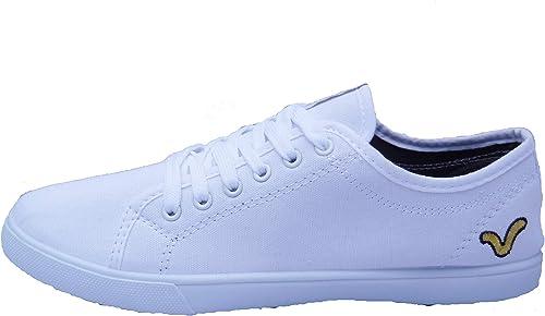 VOI Mens Boys White Jeans Canvas