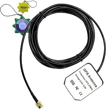HQRP antena externa SMA GPS para Trimble Lassen iQ module ...
