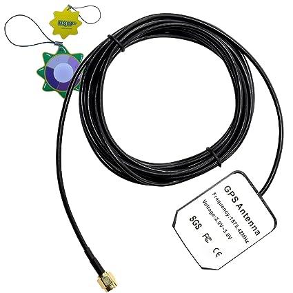 HQRP antena externa SMA GPS para Trimble Lassen iQ module 2000A / Lassen SK II board