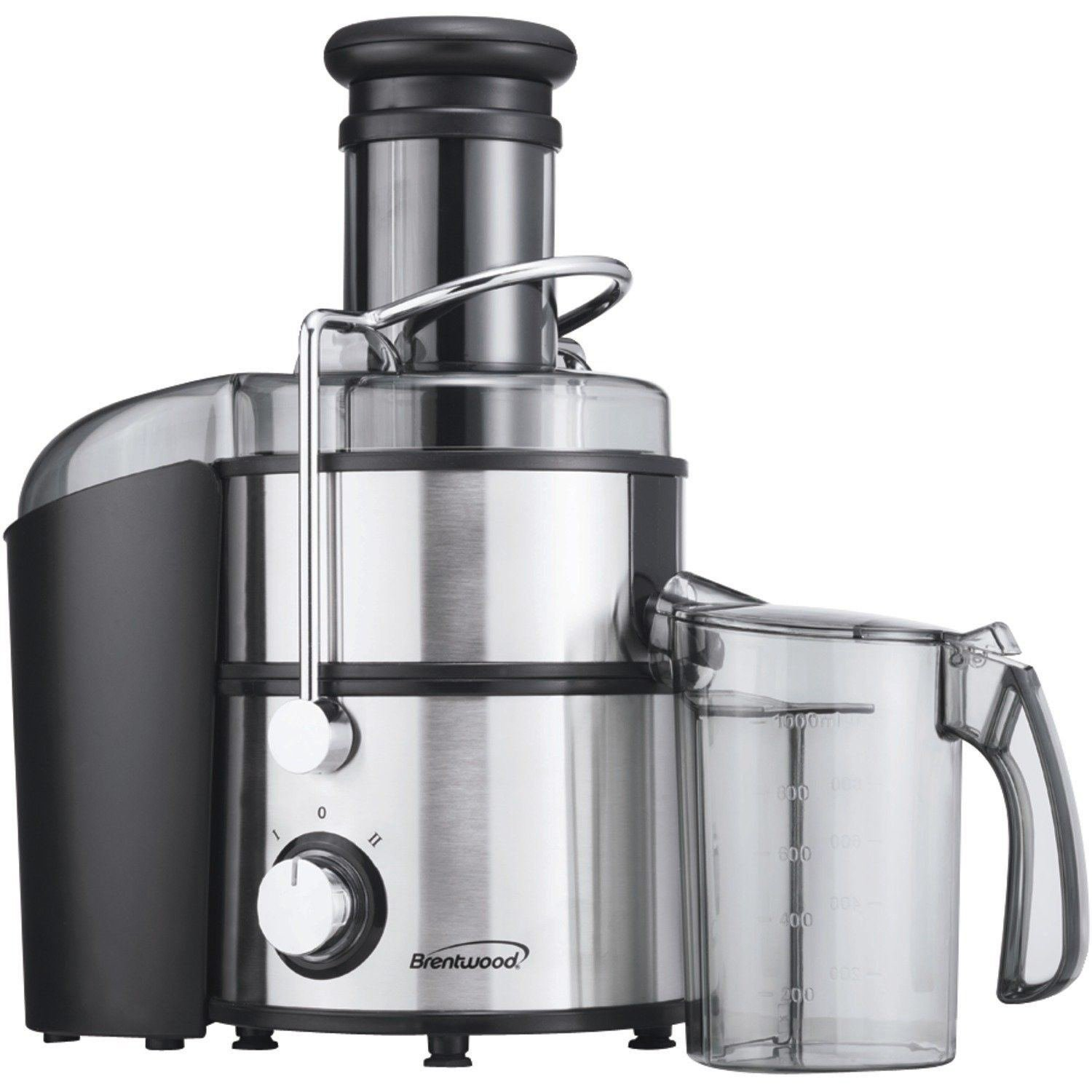 Brentwood Juicer Stainless Steel Power Juice Extractor by Electric California by Electric California