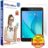 "CELLBELL Tempered Glass Screen Protector for Samsung Galaxy Tab A(8.0"") SM-T350/T355 with Free Installation Kit"