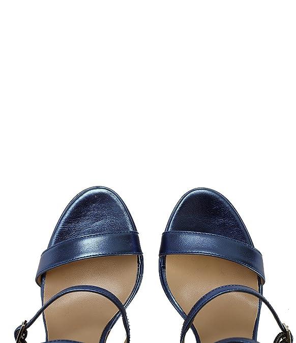 Riemchen Sandaletten Chiara blau qy2RLe