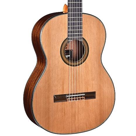 Merida Trajano T-5 tamaño completo guitarra clásica, tapa de ...