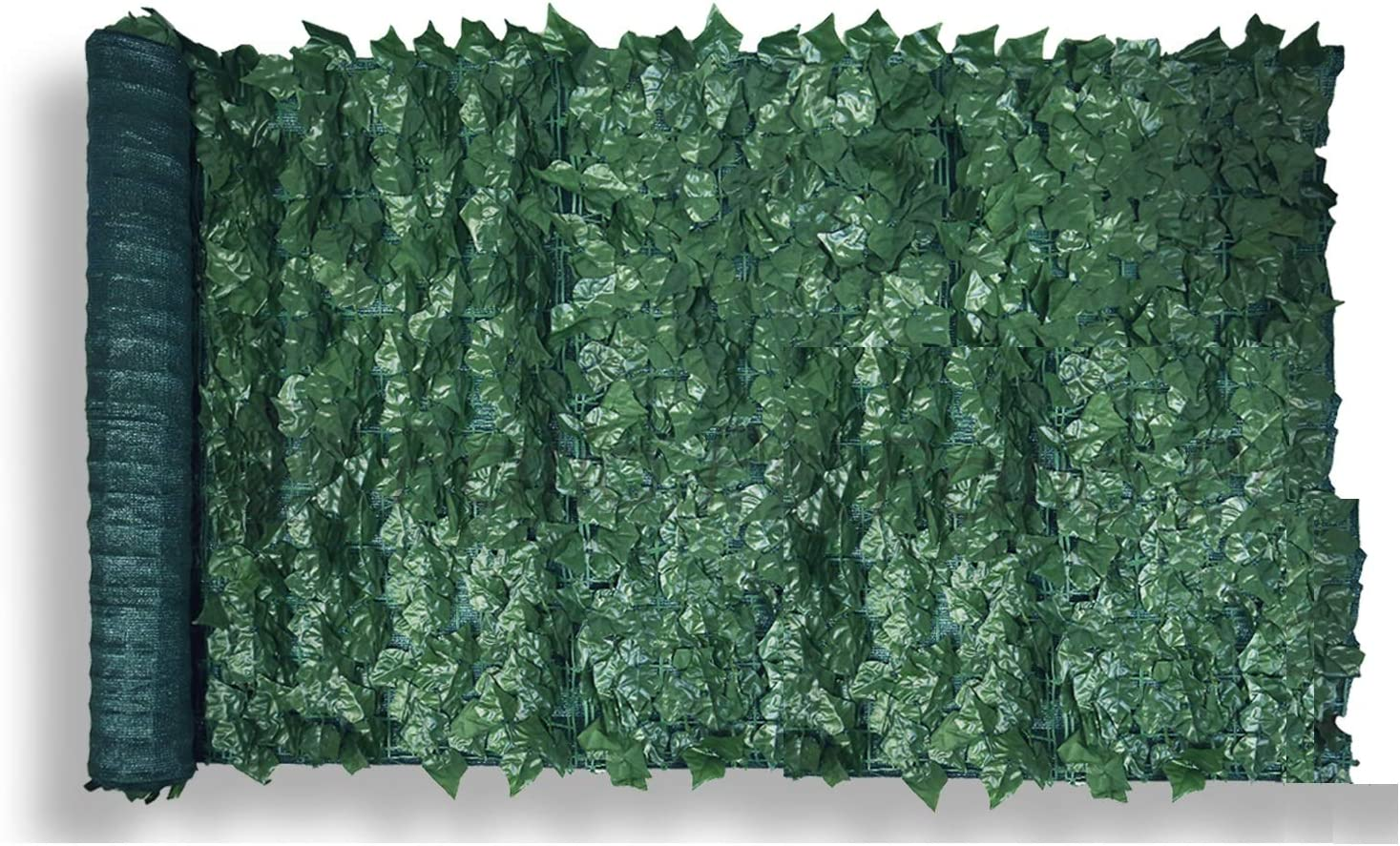 Patio Paradise 6' x 14' Faux Ivy Privacy Fence Screen with Mesh Back-Artificial Leaf Vine Hedge Outdoor Decor-Garden Backyard Decoration Panels Fence Cover