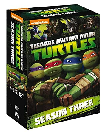 Teenage Mutant Ninja Turtles - Stagione 03 4 Dvd Italia ...