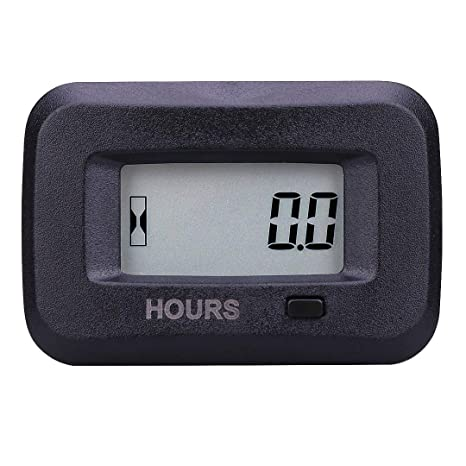 SEARON Digital Inductive Engine Hour Meter and AC/DC Hour Meter of 5-277  Volt for Generator Motocross Tractor Cultivator ATV Trailer Sprayer