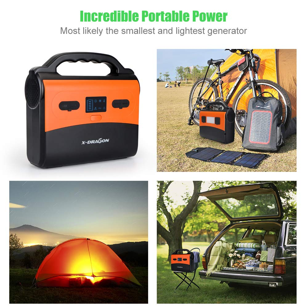 X Dragon 150wh 14500mah Portable Generator Power Station Cpap Home Supply Solar Inverter Battery Pack