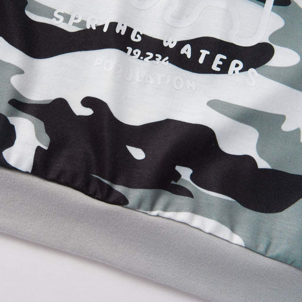 Hut Kobay S/äuglings Neugeborenes Baby M/ädchen Jungen Camouflage Strampler Haarband Langarm Camouflage Rei/ßverschluss Overall Klettergurt Haarband 6-24M