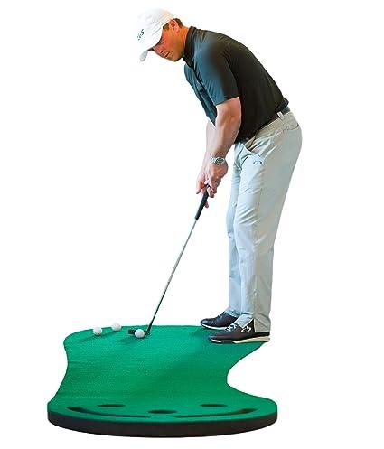 Amazon.com : Shaun Webb\'s Golf Putting Green & Indoor Mat 9\'x3 ...