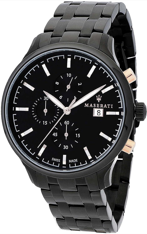 (マセラティ) Maserati attrazione R8873626001 男性用 スイス製クオーツ 時計 [並行輸入品] B07BBSNHRZ