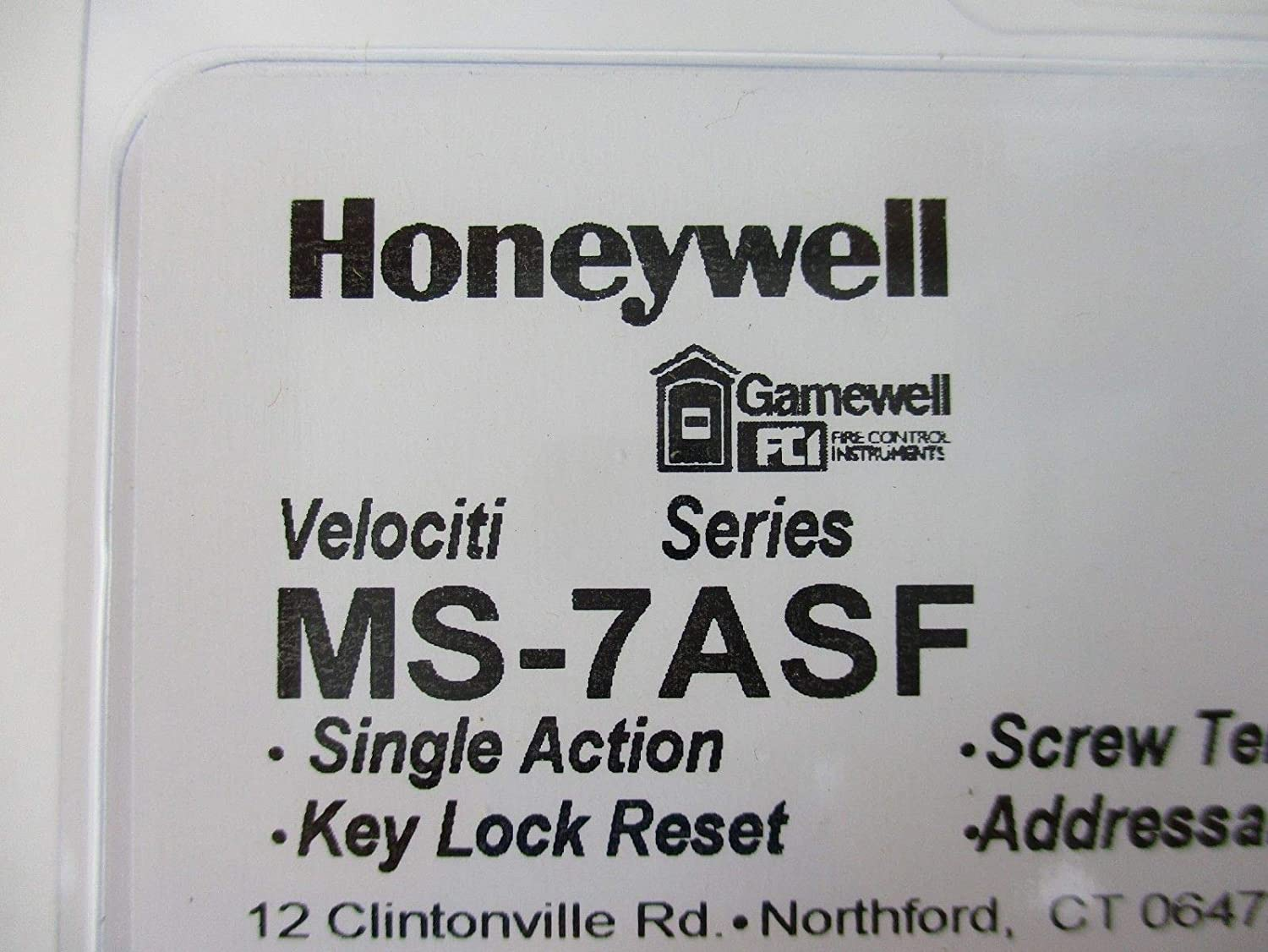 Gamewell Ms 7asf Manual Addressable Fire Alarm Pull Station