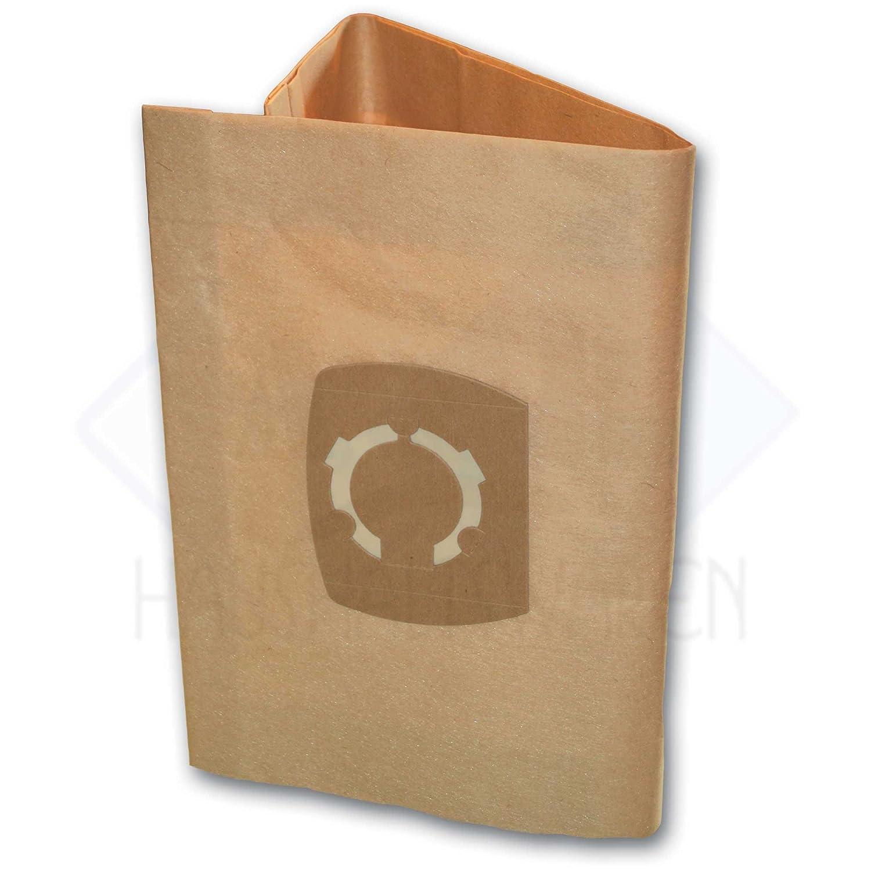 5 bolsas de aspiradora Adecuado para Parkside pnts 1400 D1 ...