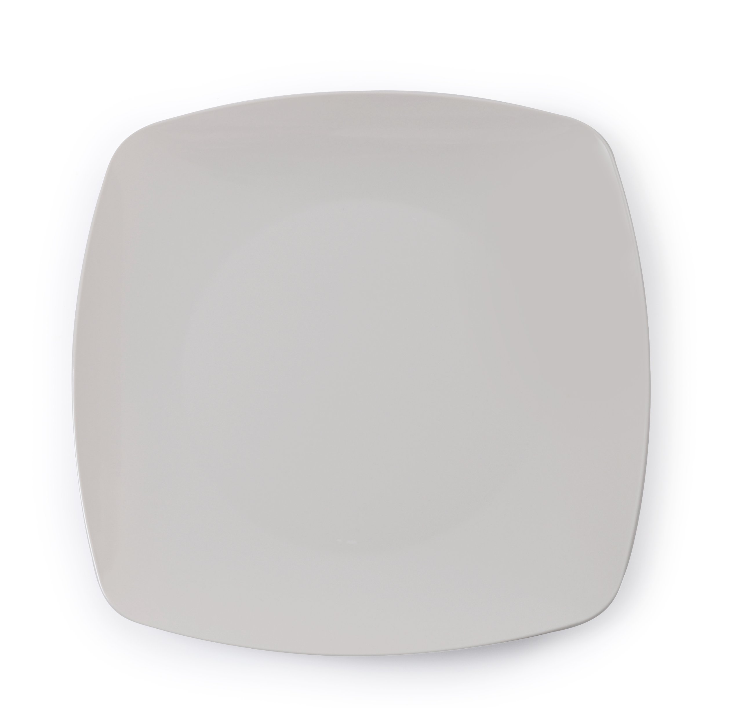 Fineline Settings Renaissance 5.5-Inch Bone Rounded Square China Plate, 120-Piece by Renaissance